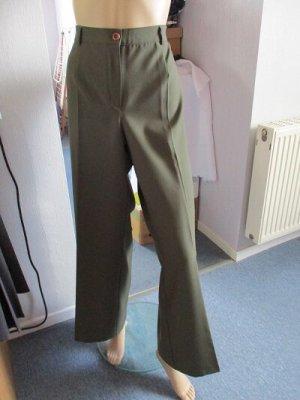 Pantalon en lin kaki