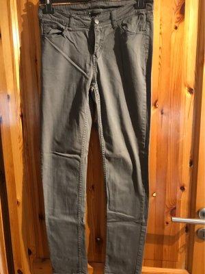 Five-Pocket Trousers dark grey