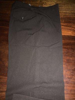 Piazza Sempione Jersey Pants dark brown wool