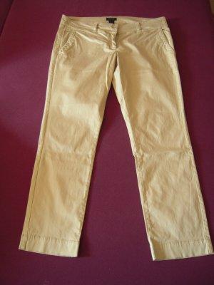 Gant 7/8 Length Trousers oatmeal cotton