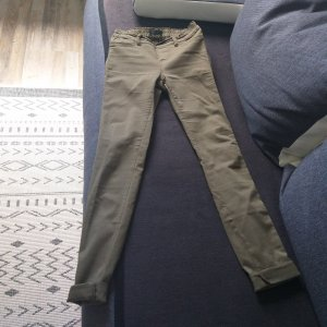 Amisu Stretch Trousers green grey