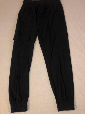 Amisu Pantalon en jersey noir