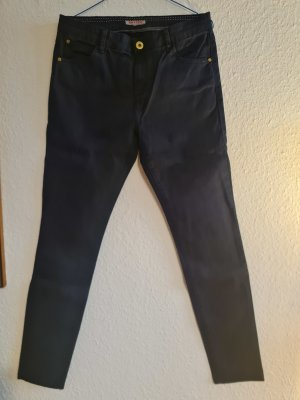 Review Breeches dark blue cotton