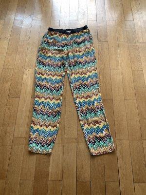 American Vintage Pantalone alla turca multicolore