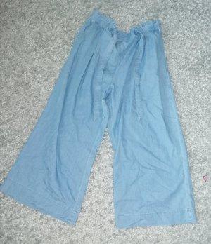 H&M 7/8 Length Trousers pale blue