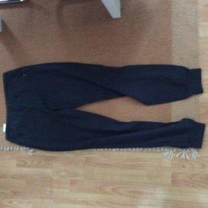 Vero Moda Pantalón de lino azul oscuro Lino