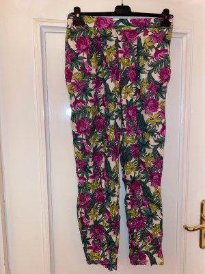 H&M Peg Top Trousers multicolored