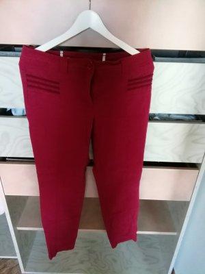 Steilmann Pantalone rosso scuro
