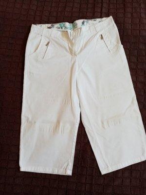 Pantalon 3/4 blanc