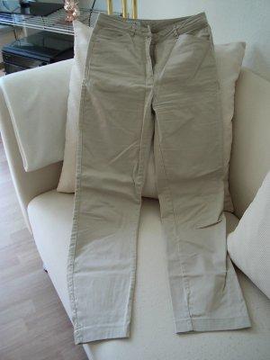 Joy Drainpipe Trousers camel cotton