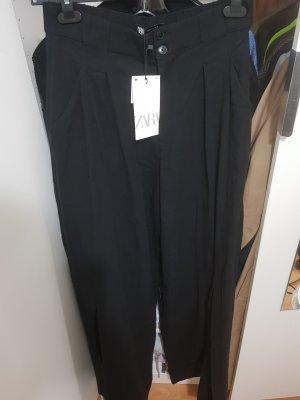 Zara Pantalone a zampa d'elefante nero