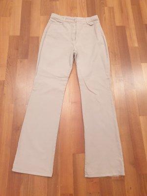 Apriori Spodnie ze stretchu jasnobeżowy