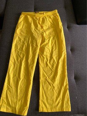 L' amie de Paris Pantalone largo giallo