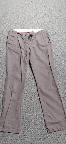Esprit Pantalone a zampa d'elefante grigio chiaro-argento