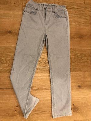 Kingfield Pantalon taille basse gris clair