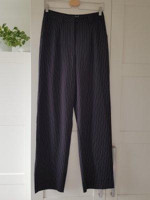 NA-KD Pantalone a zampa d'elefante bianco-nero