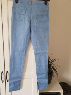 Spodnie ze stretchu błękitny