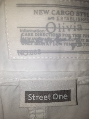 Street One 3/4 Length Trousers natural white