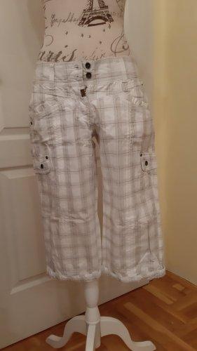 Timezone Pantalon cargo blanc