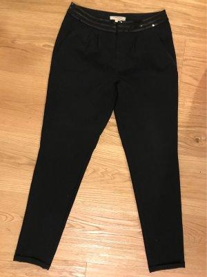 Springfield Pantalon taille basse noir