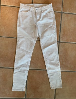 United Colors of Benetton Low-Rise Trousers white