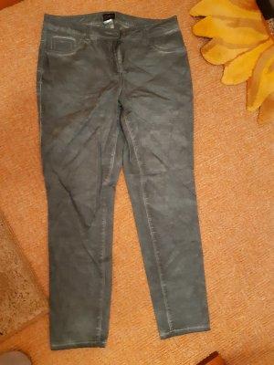 Amy Vermont Spodnie ze stretchu khaki