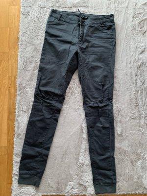 Amy Gee Pantalone a vita bassa antracite-grigio scuro