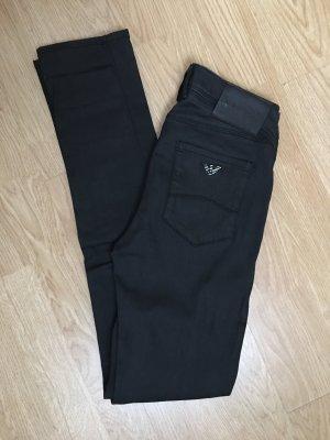 Armani Jeans Pantalon strech noir
