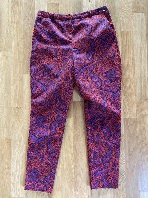 Hose ASOS 42 XL rot lila