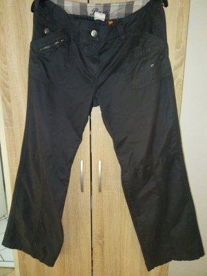 Street One Cargo Pants anthracite-dark grey cotton