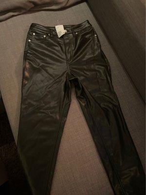 Hose aus Fakeleder H&M