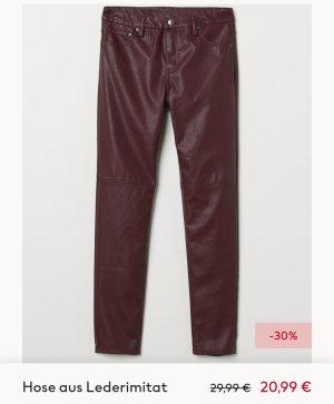 Hose aus Leder