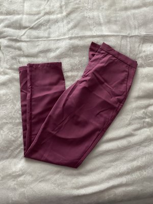 NA-KD High Waist Trousers brown violet