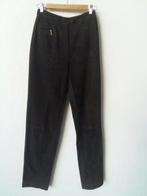 BIBA pariscop Pantalón de cuero marrón oscuro Cuero