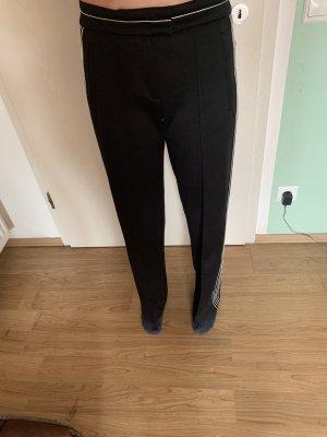 Pinko Pantalon taille basse noir-blanc