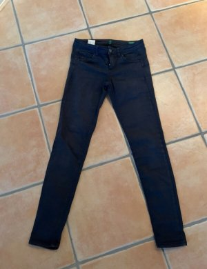 United Colors of Benetton Pantalone a sigaretta blu