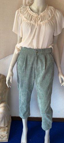 Pantalón de pana verde grisáceo