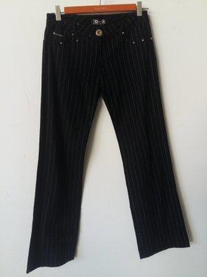 Dolce & Gabbana Pantalón de lana negro Algodón