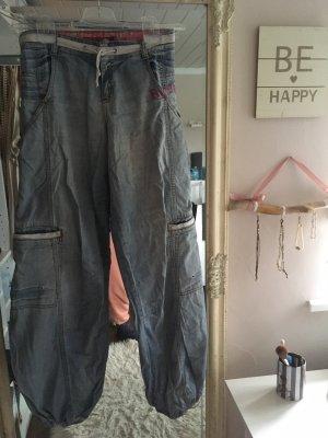 Hose Baggy Jeans von Blend She in blau Größe 26
