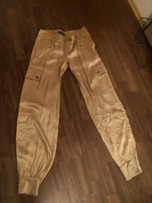 Vero Moda Flodderbroek goud Polyester