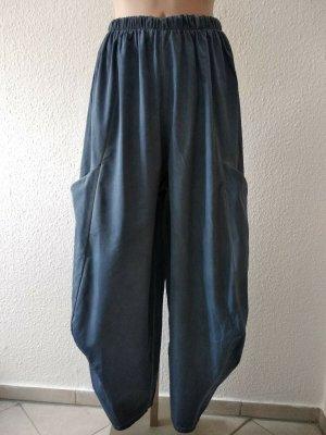 Moonshine Fashion Baggy broek petrol Polyester