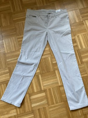Gerry Weber Five-Pocket Trousers natural white spandex