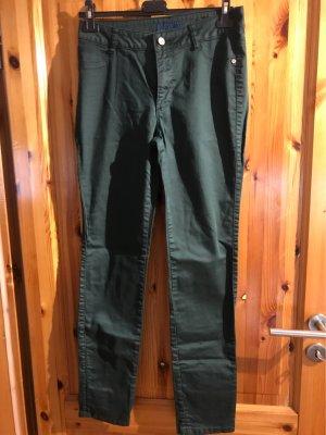 One Touch Five-Pocket Trousers dark green-khaki