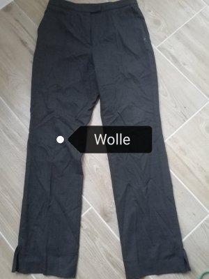 Betty Barclay Wełniane spodnie ciemnoszary-antracyt