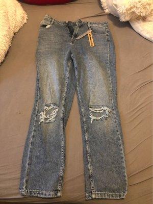 Tally Weijl Hoge taille jeans lichtblauw