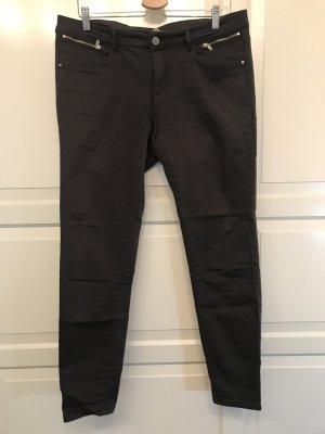Orsay Pantalone cinque tasche antracite Cotone
