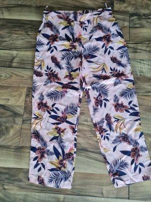 BGN Falda pantalón de pernera ancha rosa claro