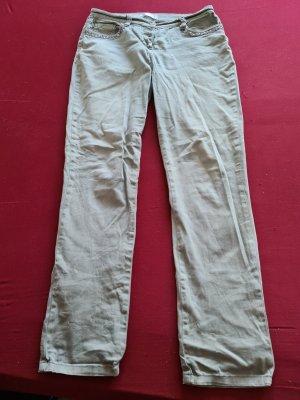 Bon Prix Pantalone elasticizzato cachi