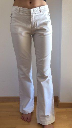 Stefanel Boot Cut Jeans white