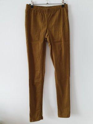 Pieces Drainpipe Trousers multicolored